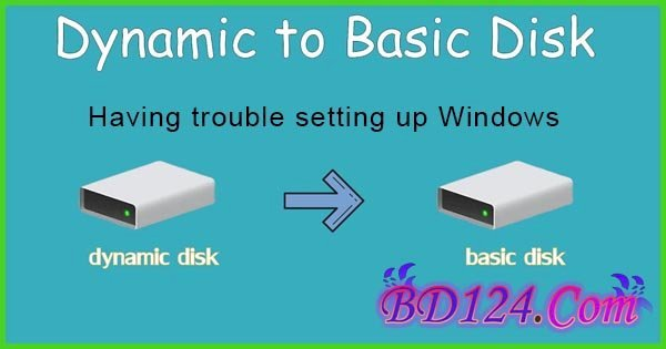 How To Change Dynamic Hard Disk